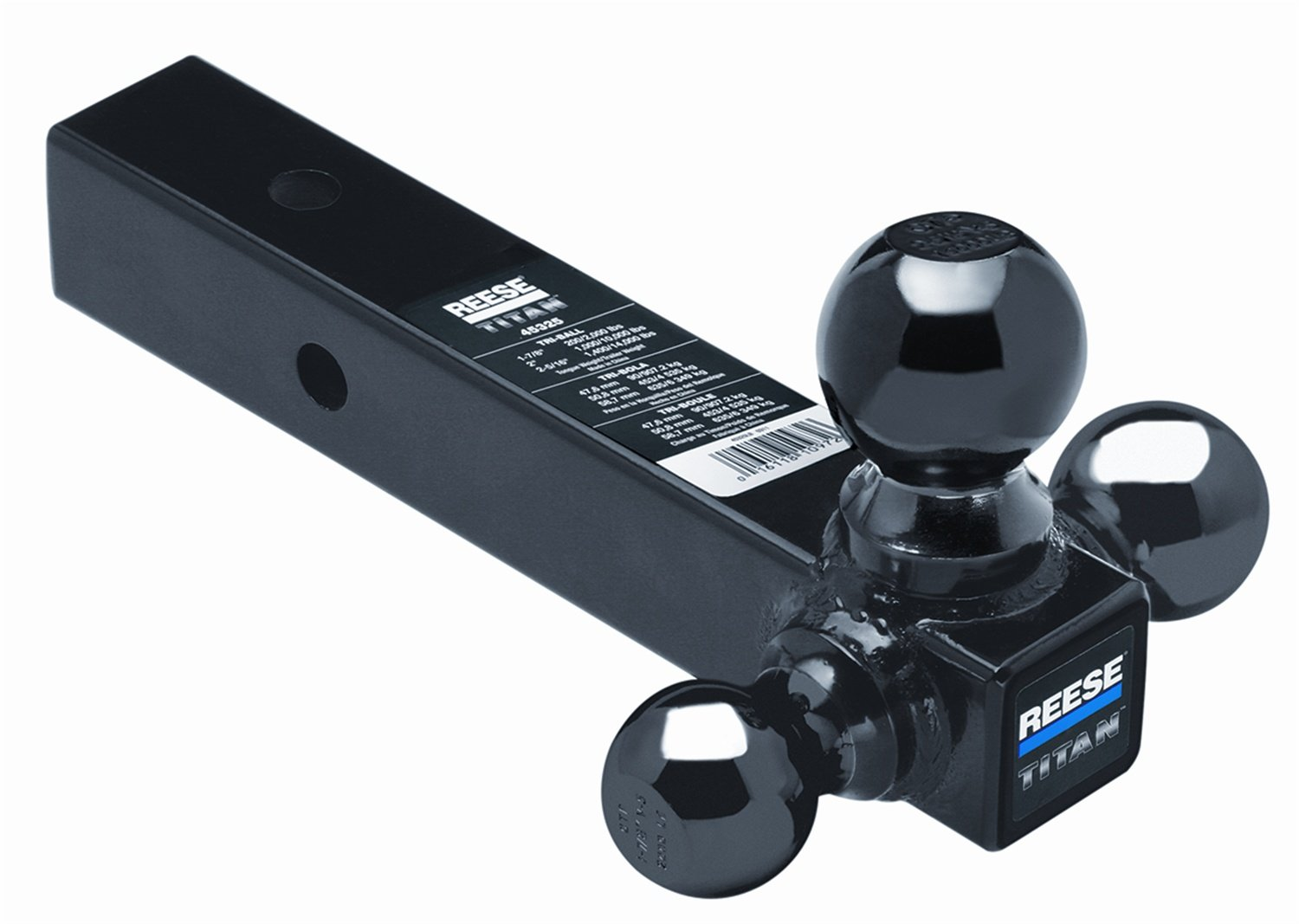 Reese 45325 Tri-Ball Mount Hitch
