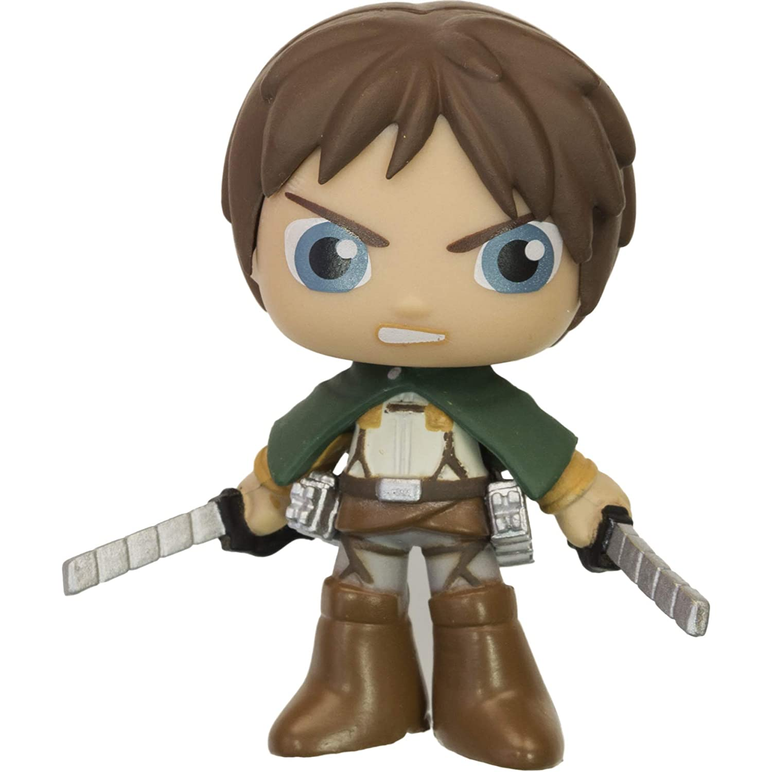 Funko Eren Jaeger 06146 - B BCC9U9414 ~2.6 x Best of Anime Mystery Minis Mini Vinyl Figure /& 1 Mystery Minis Compatible PET Plastic Graphical Protector Bundle
