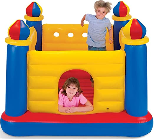 Mr. Fragile Castillo Hinchable, Trampolín Inflable para ...