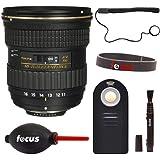 Tokina 11-16mm f/2.8 at-X 116 PRO DX-II Lens for Nikon F w/Focus Accessory KIt
