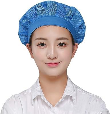 Xianheng Gorro de Trabajo Ajustable Unisex de Malla Transpirable ...