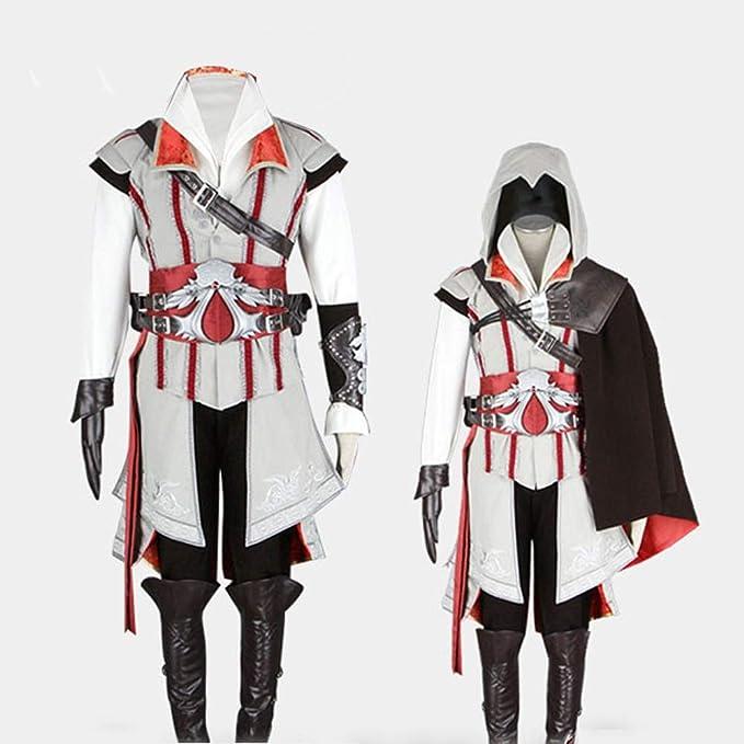Gjh-Cosplay disfraz de anime para hombre juego de rol Assassins ...