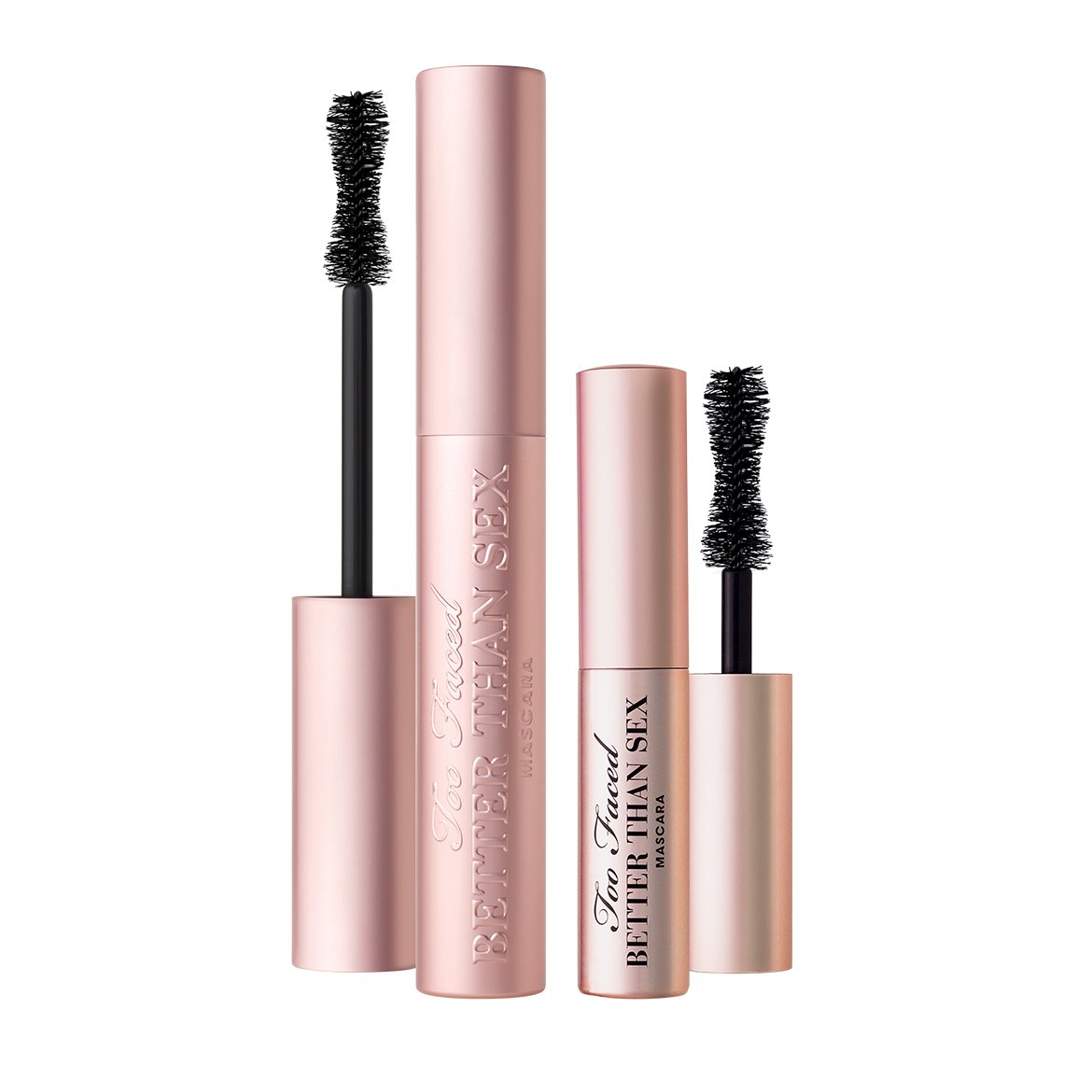 Too Faced Better Than Sex Mascara Duo Set (Full Size and Travel Sized)