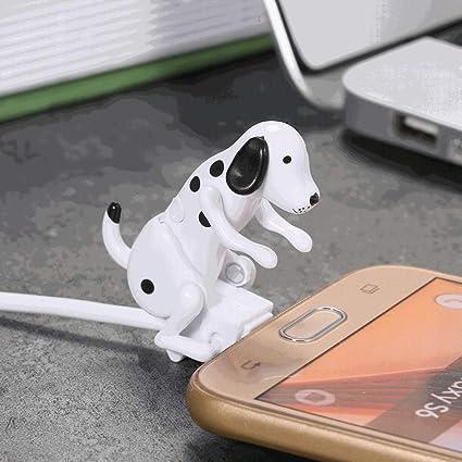 Chezaa Micro USB Ladekabel für Android, Hund Spielzeug