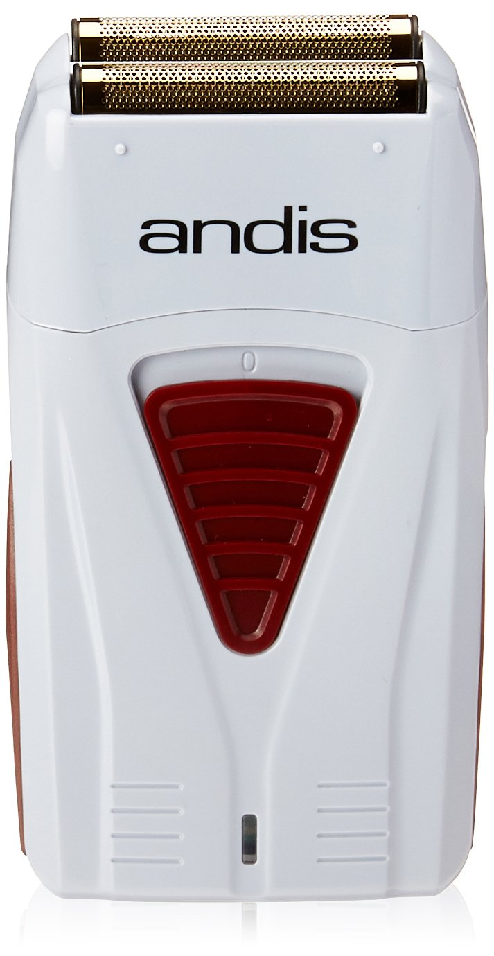 Andis 17150 Pro Foil Lithium Titanium Foil Shaver, Cord/ Cordless (Grey) by Andis