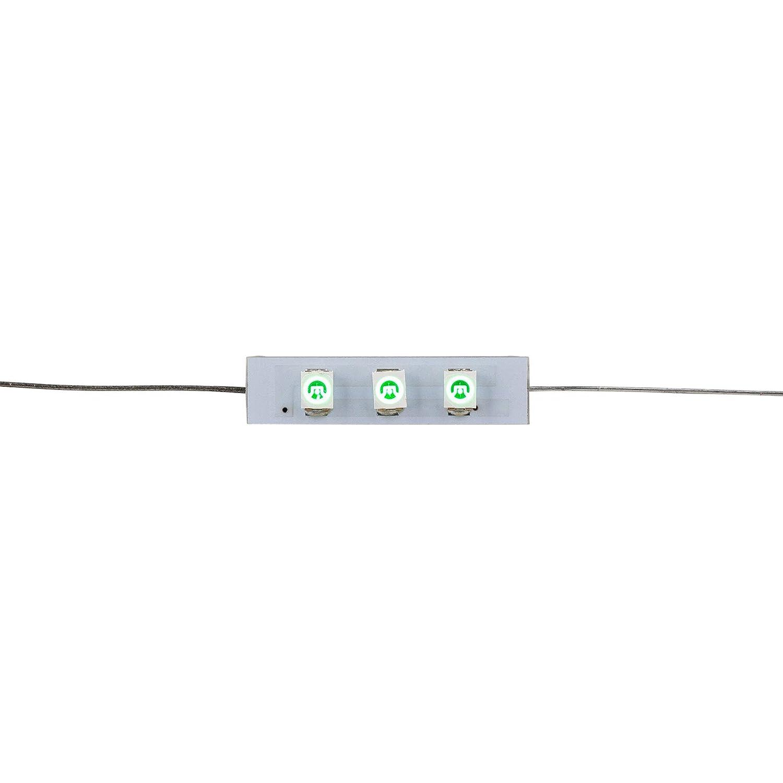 Parts Express グリーン 3 LED 軸 8 VDC 交換用ランプ 5個パック B07GNYHDHG