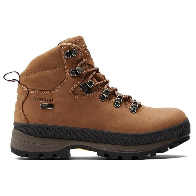 Brasher Brown Womens Country Hiker Shoe Chaussures Outdoor Shoe Marron, Marron, 36 2/3