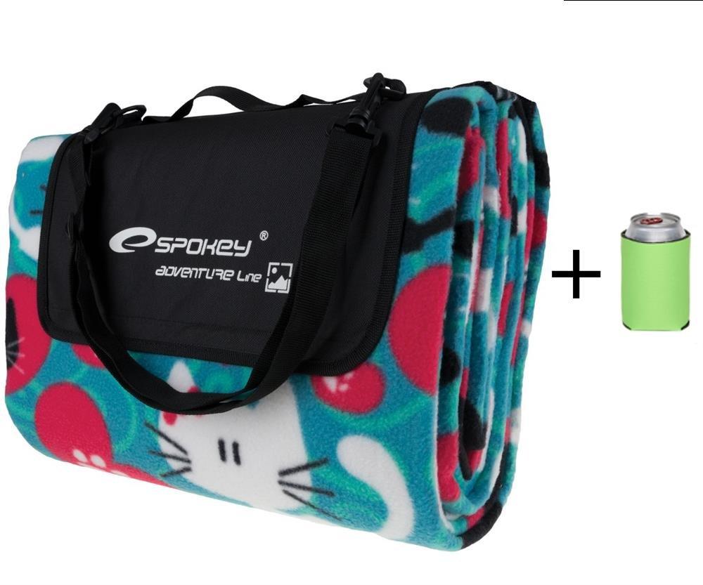 Spokey reg; reg; Spokey - Juego de picnic (manta de picnic, toalla de playa, 22 nuevos diseños y tamaños, plegable), Cats befcc5