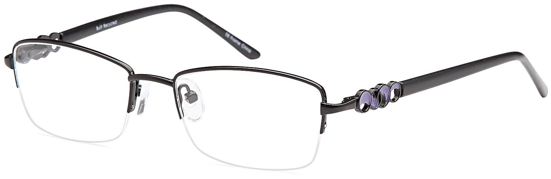 e4d3d70c35 Amazon.com  DALIX Office Work Style Prescribable Eyeglasses Frames 49-17-135  (Black)  Clothing