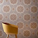 Arthouse, Timour Copper Wallpaper, Vintage Inspired Décor