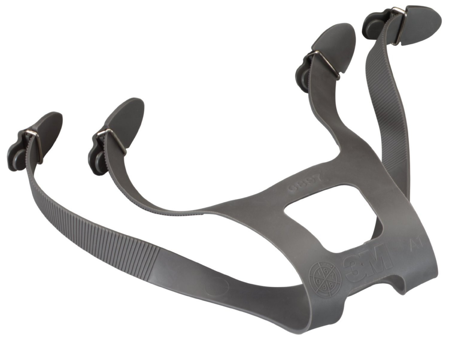 3M Full Face Head Harness Assembly - (4 Each) - R3-6897