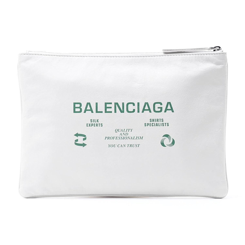 (バレンシアガ) BALENCIAGA クラッチバッグ SUPERMARKET CLIPM スーパーマーケット クリップM [並行輸入品] B079ZQ68RV