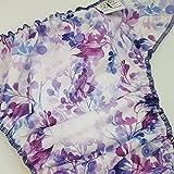 Fairy Garden - One Size (11-35#) - Waterproof AI2 Cloth Diaper