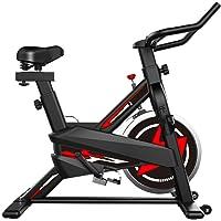zkhysm - Bicicleta de interior - Bicicleta estática con pantalla LCD para casa y gimnasio, ideal para fitness - Máquina…