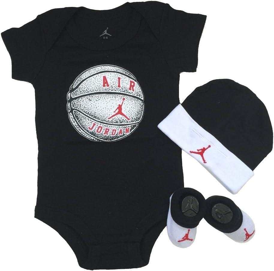 Nike Michael Jordan Infantil Layette 3 piezas establece la gorra y ...