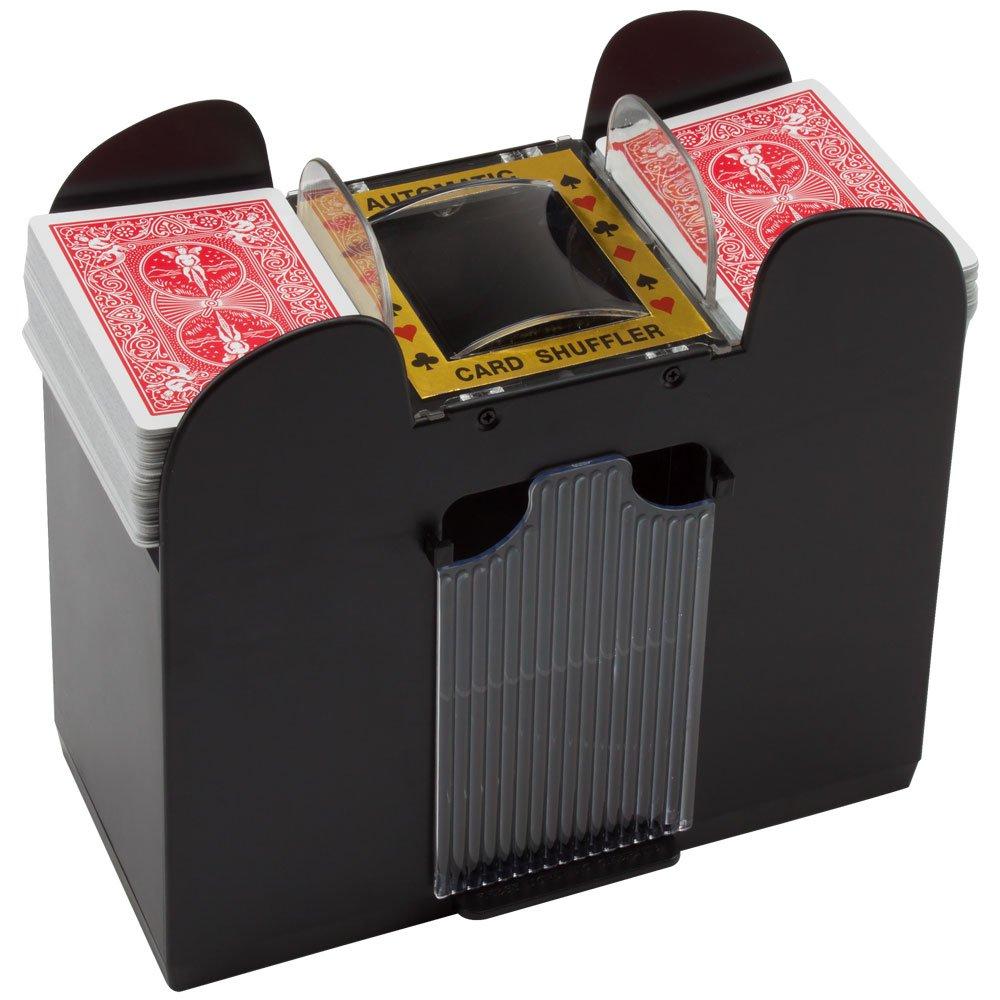Automatic Card Shuffler for Poker/Casino Games (Plastic; 6-Decks)