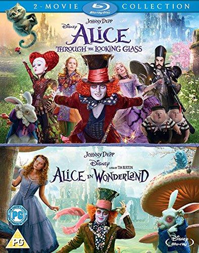 Alice Wonderland Through Looking Blu ray