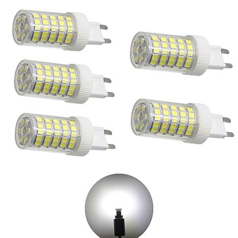 G9 Bombilla LED blanco frío 6000 K – G9 Bombilla LED Bombilla 10 W 800LM sin