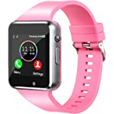 Smart Watch,Unlocked Smartwatch Compatible Bluetooth/Android Phone Touchscreen Call Text Music Player Notification Sync Camer