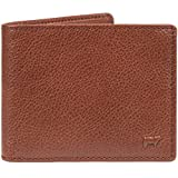 Will Leather Goods Classic Vegetable Tanned, Top Grained Leather Billfold, 4.5'' x 3.5'' - Brown