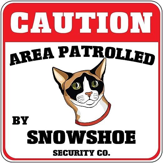 WallAdorn Fine Décor Area Patrolled by Snowshoe - Póster de Gato ...