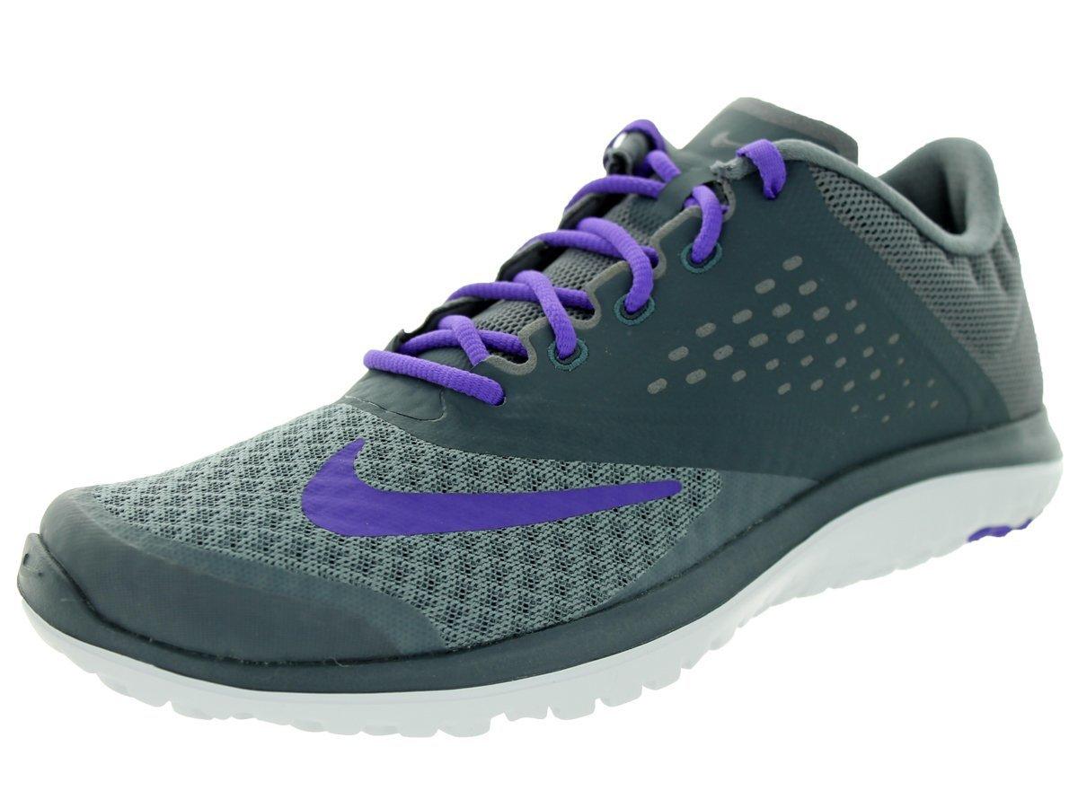 more photos a74e2 1413c NIKE Women's FS Lite Run 2 Athletic Shoe, cool grey/hyper grape-dark magnet  grey, 6.5 B US