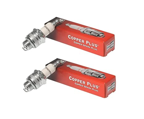 Champion qc12yc-2pk Copper Plus Small Engine Spark Plug Stock # 946 (2 unidades