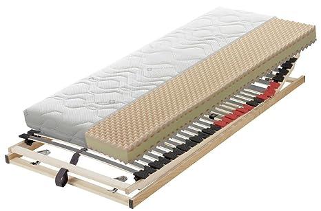 Badenia Bettcomfort 03620398143 colchón de Luxe Trend Line – y marco de la cabeza y pie