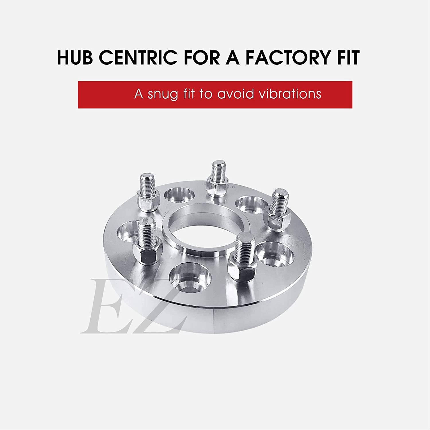 4 Hub Centric Wheel Adapters 5x4.5 to 5x112 Thickness 1 Inch