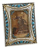 turquoise and gold picture frames - Decorative Western Picture Frame 4