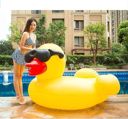 WEGCJU Flotador Piscina Gigante Pato Amarillo Grande Juguete De La ...