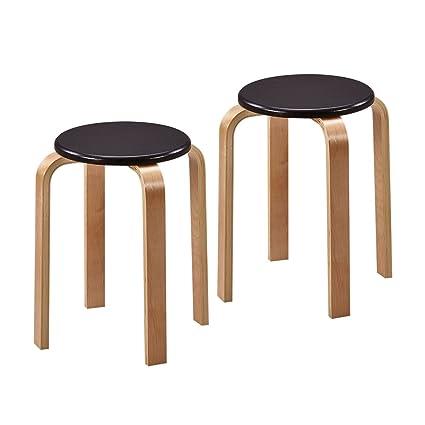 Phenomenal Amazon Com Lqqgxl European Chair Plastic Stool Thick Solid Creativecarmelina Interior Chair Design Creativecarmelinacom