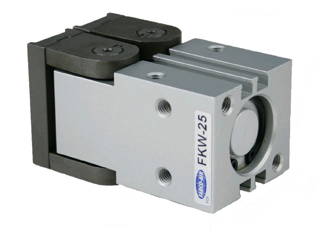 Double Acting 25 mm Bore Diameter FAB   FKHW-25 Fabco-Air FKHW-25 Parallel Synchronous Gripper 180 Degree