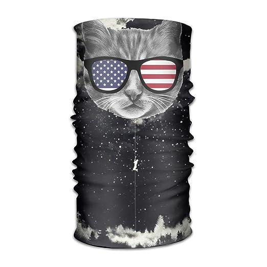Amazon.com  Patriotic Cat 16-in-1 Magic Scarf 44ef8fac918