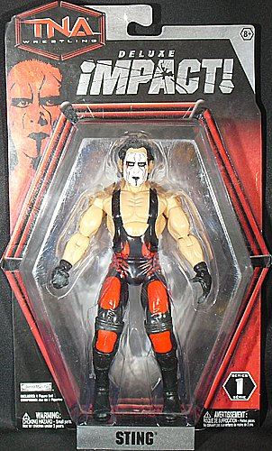 Sting Figur - TNA Deluxe Impact 1