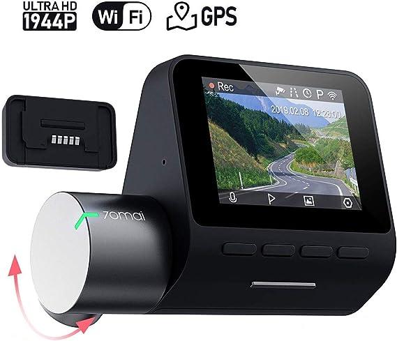 XIAOMI 70mai Pro English Version 1944P Car DVR Dash Cam w// GPS 64GB Memory Card