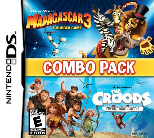 Madagascar 3 & The Croods Prehistoric Combo Pack - Nintendo DS