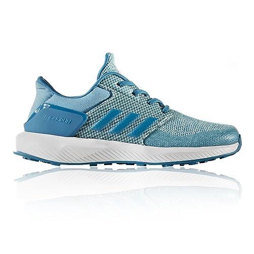 reputable site be131 a2e42 adidas RapidaRun K, Sport Shoes Unisex Children Multicolour Size 4UK Child