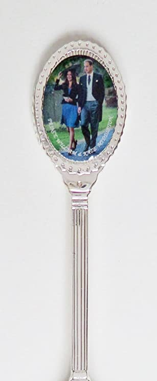 Amazon.com : Royal Wedding William & Kate 2010 Photo Decorated Bowl Silver-Plated Collectors Spoon : Everything Else