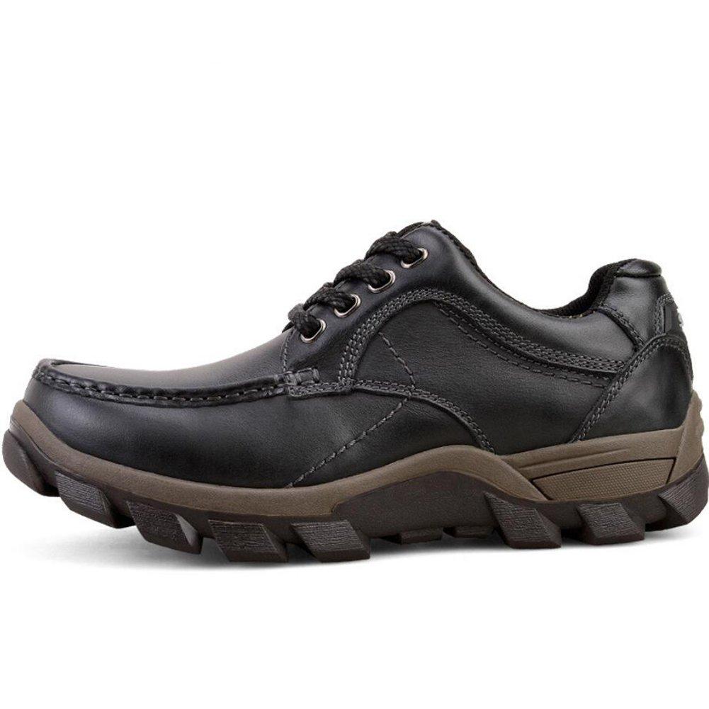 CAI Herren Schuhe Schuhe Schuhe Stoff Herbst Winter 2018 Frühjahr Herbst Neue Herrenmode Wanderschuhe Leder Anti-Rutsch-Komfort Herren Schuhe Outdoor-Freizeit-Größe Turnschuhe (Farbe   Schwarz Größe   45) bc98d8
