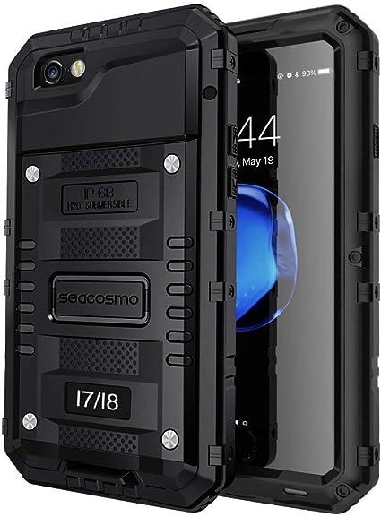 seacosmo Cover iPhone 7, Cover iPhone SE 2020, [Waterproof] Custodia Impermeabile Corpo Completo con Protezione Incorporata dello Schermo per Apple ...