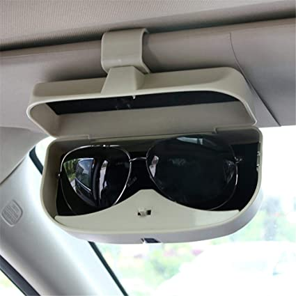 Car Suv Sun Visor Clip Sunglasses Storage Box Glasses Holder Transparent Color Watches, Parts & Accessories Parts & Accessories