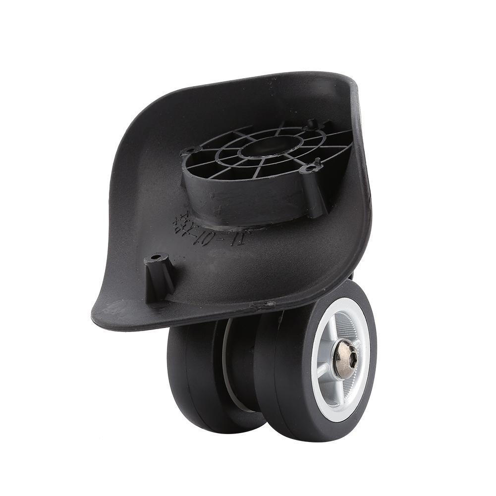 2Pcs Luggage Universal Wheel Shock Absorption Suitcase Swivel Universal Wheel Trunk wheels Roller VGEBY