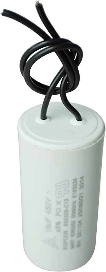 Cbb60 Kondensatoren Sodial R Cbb60 450v Ac 16uf Polypropylen Film Ueberzug Kondensatoren Weiss Elektronik