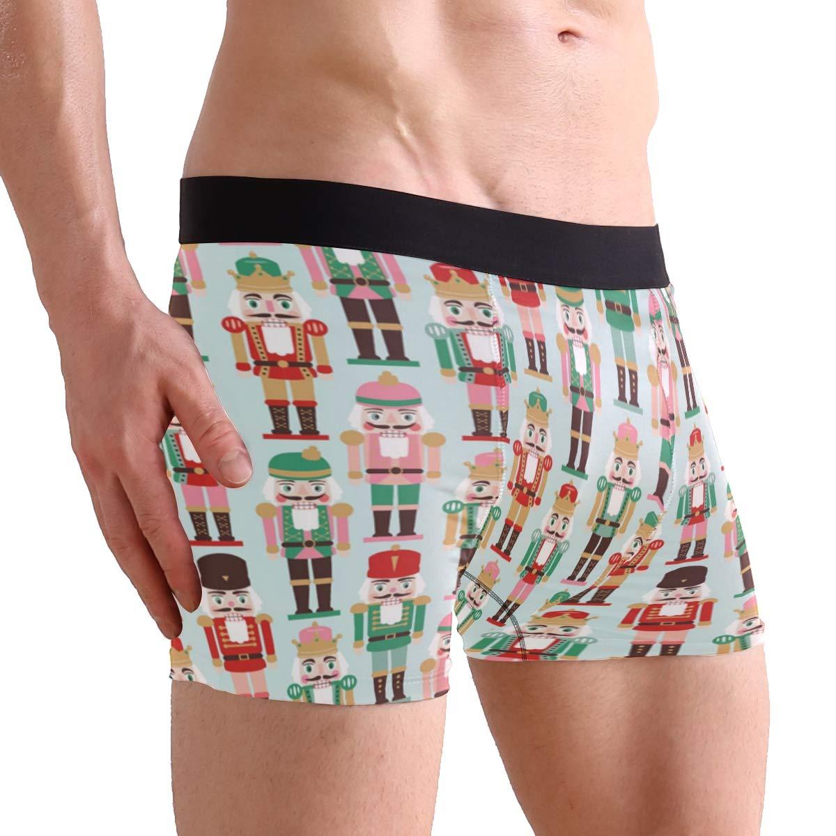 Fonmifer Addressed Nutcracker Envelopes Boxer Briefs Mens Underpants Underwear Boxer Shorts for Mens and Boys