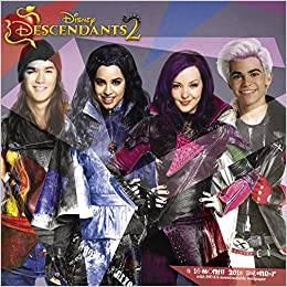 2018 Disney Descendants 2 Wall Calendar Day Dream 9781682099070 Amazon Books