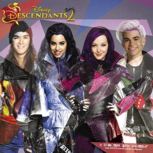 2018 Disney Descendants 2 Wall Calendar