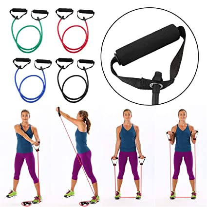 Cuerda elástica de resistencia para ejercicios de yoga ...