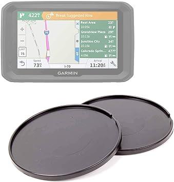 DURAGADGET Pack De 2 Discos Adhesivos para GPS Garmin Dezl 580 LMT-D, Garmin Dezl 780 LMT-D, Garmin DezlCam 785 LMT-D Mantener Su Soporte En El Salpicadero De Su Vehículo: Amazon.es: Electrónica
