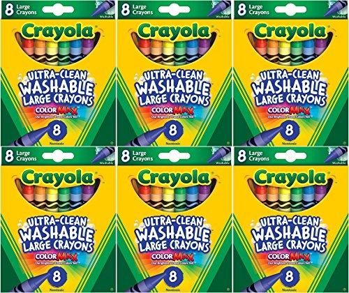 Crayola Large Washable 8ct Pack